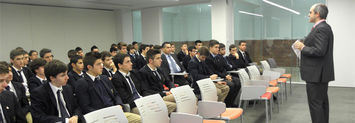 Última asamblea de curso en Bachillerato