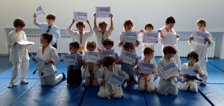 Fin de curso en Judo