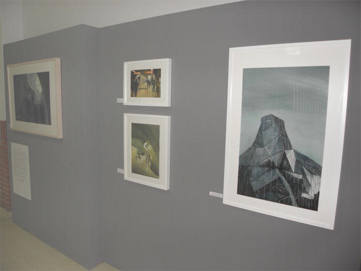 Exposición de acuarelas de la pintora Rosa Valbuena en ATERPE