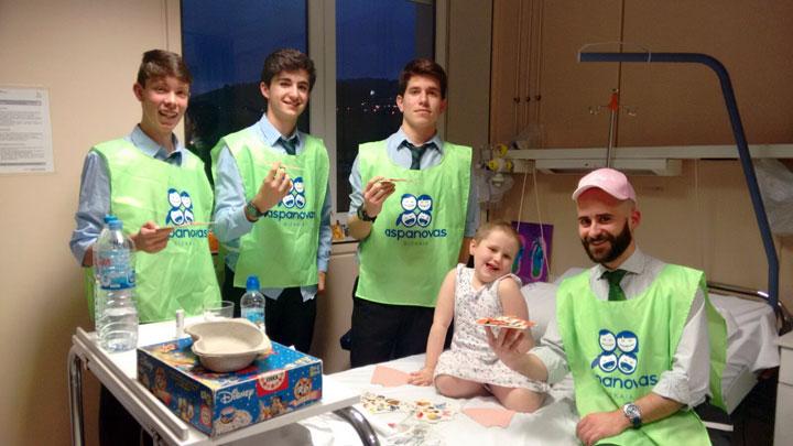Oncología Infantil, ¡el jardín de las sonrisas!