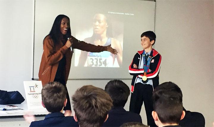 DeeDee Trotter, medallista Olímpica: ¿Cómo desarrollamos el campeón que llevamos dentro?