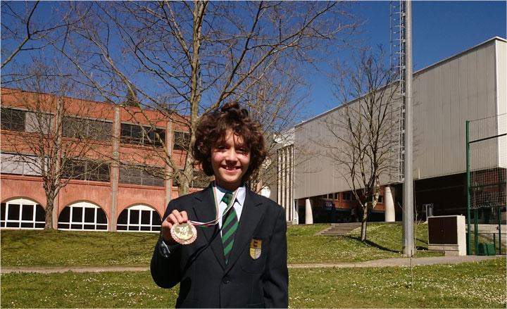 Un alumno, entre los tres primeros de Euskadi, en la final de Taekwondo