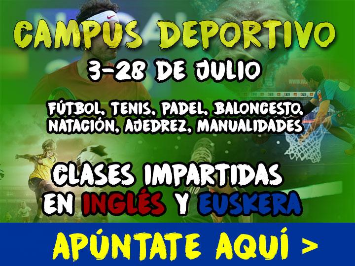 Campus deportivo de verano – 2017