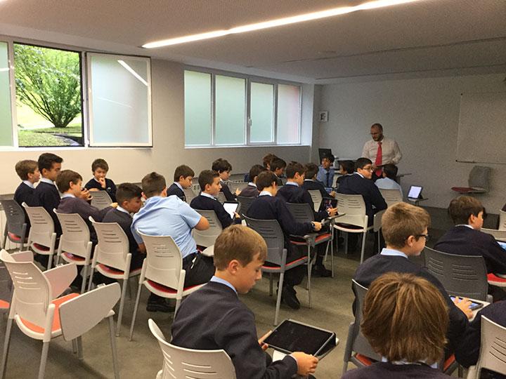 Formación en iPad para alumnos 1ºESO