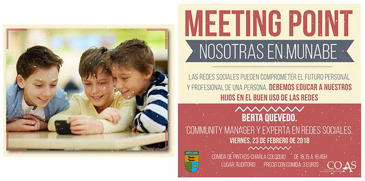 MEETING POINT Nosotras en munabe. Febrero 2018
