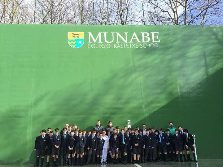 Oficialmente inaugurado el frontón de Munabe