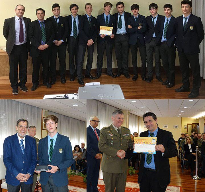 """El alumno Manuel Sureda gana el primer premio del certamen literario """"Carta a una militar española"""""""