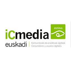 Entidad colaboradora de Munabe, iCmedia, para la defensa de los derechos de los usuarios de los medios.