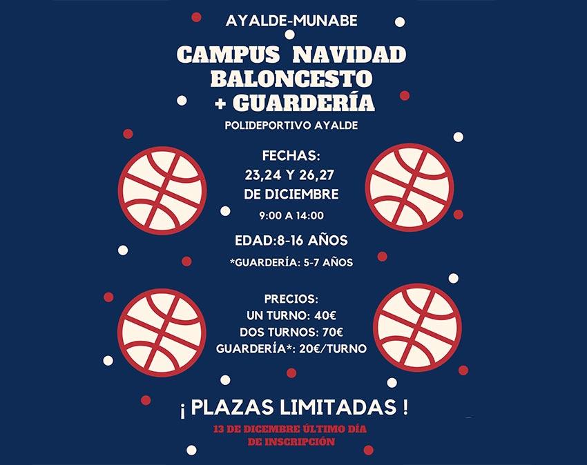 Campus de Navidad de Baloncesto